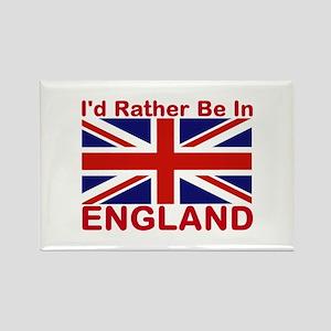 England Lover Rectangle Magnet