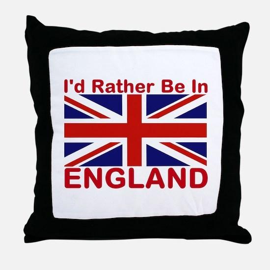 England Lover Throw Pillow