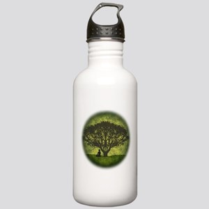 Buddha Under the Bodhi Tree Stainless Water Bottle