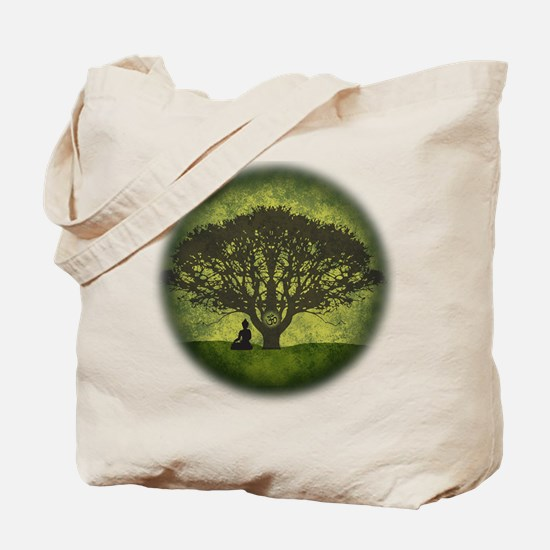 Buddha Under the Bodhi Tree Tote Bag