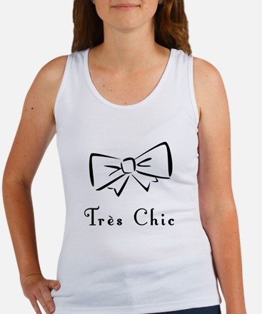 Tres Chic bow Women's Tank Top