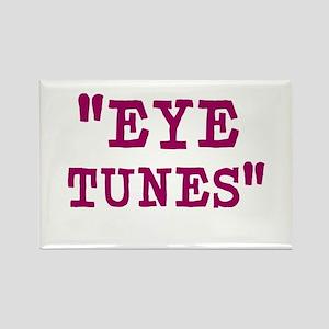 Eye Tunes - Niall Horan Rectangle Magnet