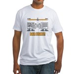 Bar Fight Fitted T-Shirt