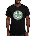 Kew Green Men's Fitted T-Shirt (dark)