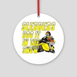 Sledders Doo Ornament (Round)