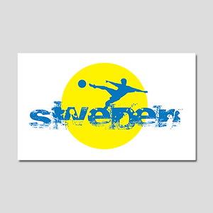 SWE4 Car Magnet 20 x 12