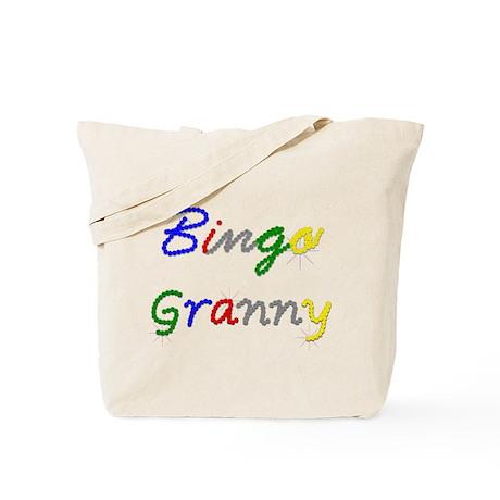 Bingo Granny Tote Bag