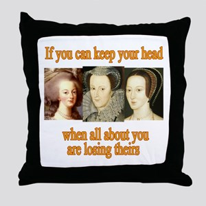 Meanings Change Throw Pillow