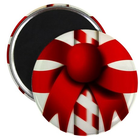 Happy Holidays Candy Cane Magnet