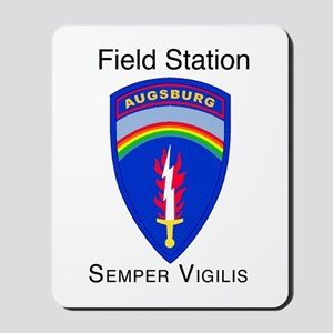 Field Station Augsburg Mousepad