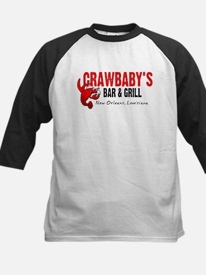 Crawbaby's Bar & Grill Kids Baseball Jersey