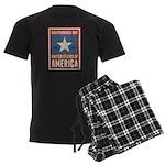 Independence Day Men's Dark Pajamas
