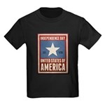 Independence Day Kids Dark T-Shirt