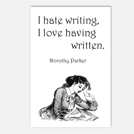 Love/Hate Writing Postcards (Package of 8)