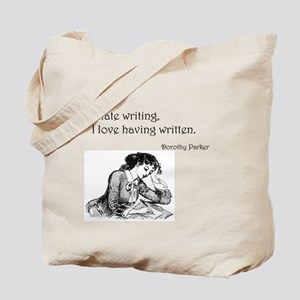 Love/Hate Writing Tote Bag