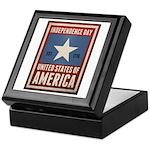 Independence Day Keepsake Box
