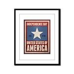 Independence Day Framed Panel Print