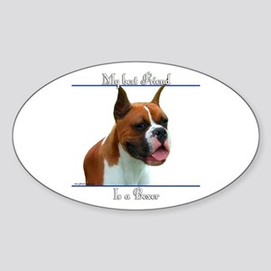 Boxer 7 Oval Sticker