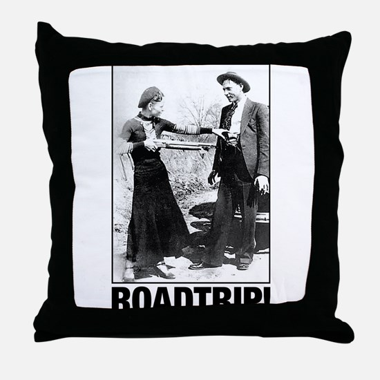 ROADTRIP! Throw Pillow
