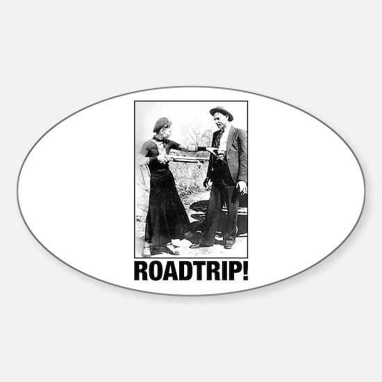 ROADTRIP! Sticker (Oval)