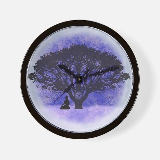 Buddha Beneath the Bodhi Tree-Light Background Wal