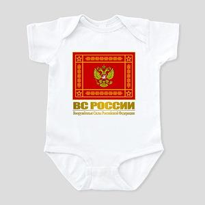 Russian Armed Forces Flag Infant Bodysuit