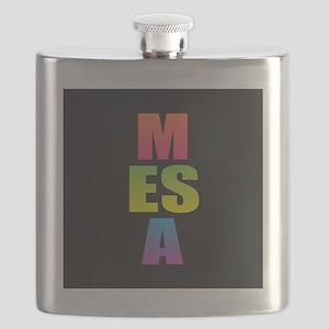 Mesa Black Rainbow Flask