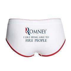 Anti-Romney: Fire People Women's Boy Brief