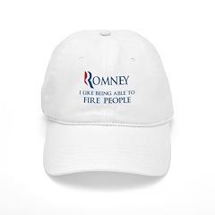Anti-Romney: Fire People Cap