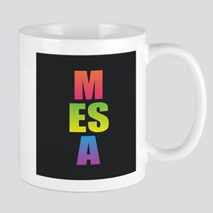 Mesa Black Rainbow Mugs