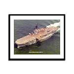 USS GUADALCANAL Framed Panel Print