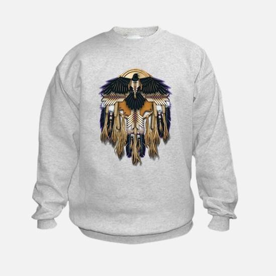 Native Crow Mandala Sweatshirt