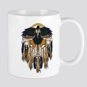 Native Crow Mandala Mug