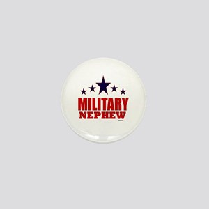 Military Nephew Mini Button
