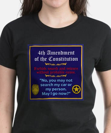 Oath Takers/May I go now? Women's Dark T-Shirt