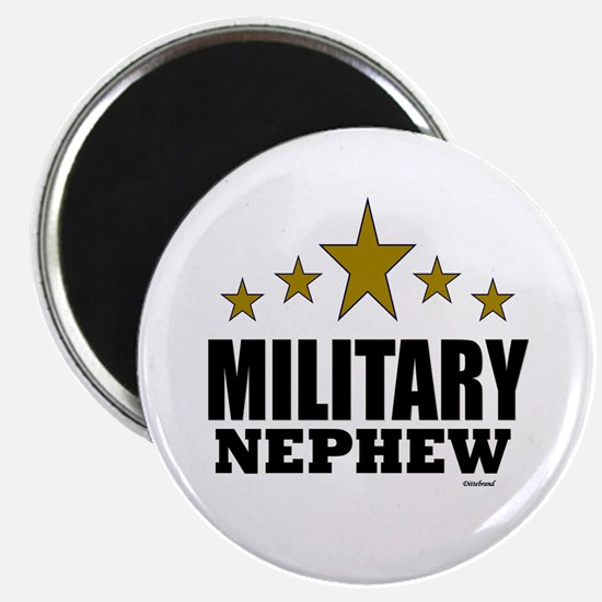 "Military Nephew 2.25"" Magnet (100 pack)"