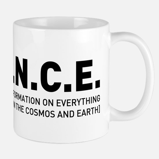 S.C.I.E.N.C.E. in Black Mug