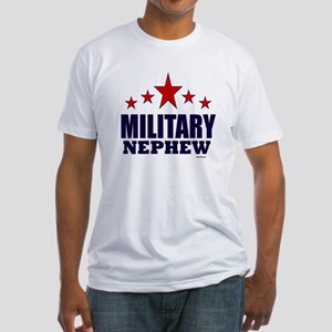Military Nephew Fitted T-Shirt