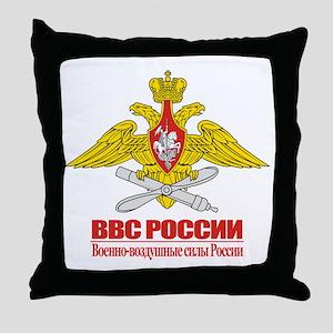 Russian Air Force Emblem Throw Pillow