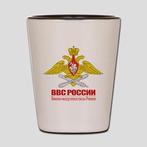 Russian Air Force Emblem Shot Glass