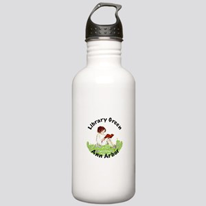 Library Green A2 Stainless Water Bottle 1.0L