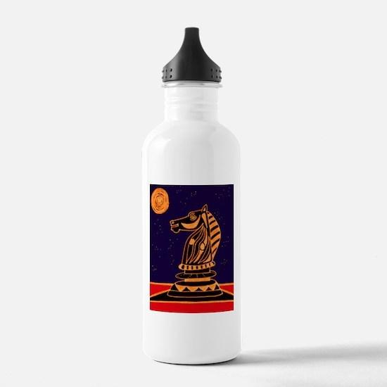Tiger Knight Water Bottle