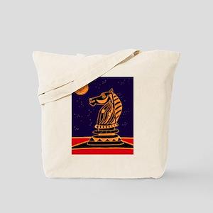 Tiger Knight Tote Bag