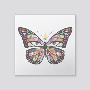 """butterpng Square Sticker 3"""" x 3"""""""