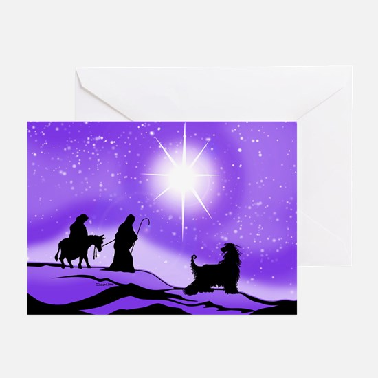 Afghan Night Divine Greeting Cards (Pk of 10)