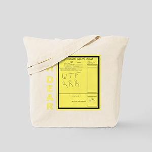 Agility Run Sheet Tote Bag