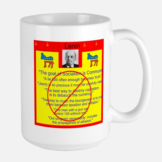 Lenin quotes Large Mug