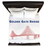 Golden Gate Bridge King Duvet