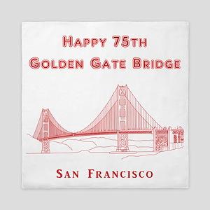 Golden Gate Bridge Queen Duvet