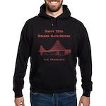 Golden Gate Bridge Hoodie (dark)